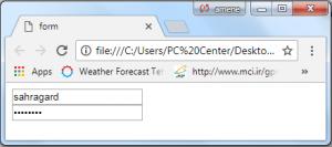 فرم در HTML