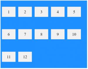flex box space-between2