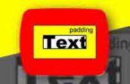 padding در css