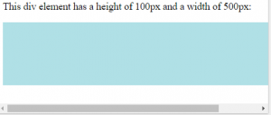 طول و عرض در سی اس اس