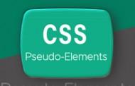 شبه عناصر در css