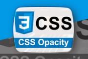 opacity در css